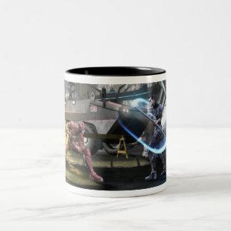 Tasse 2 Couleurs Copie d'écran : Éclair contre Nightwing