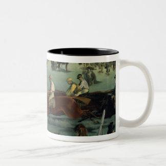 Tasse 2 Couleurs Course de chevaux de Manet |, 1872