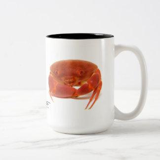 Tasse 2 Couleurs Crabe convexe, convexus de Carpilius