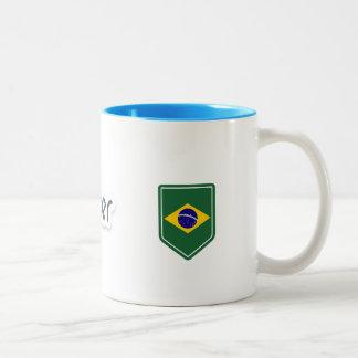 Tasse 2 Couleurs docker Brésil