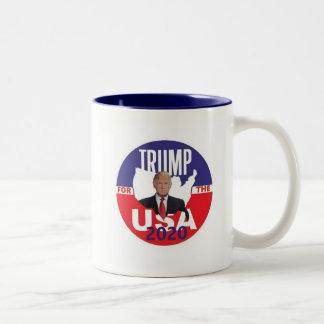 Tasse 2 Couleurs Donald Trump 2020
