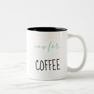 Tasse 2 Couleurs Engagé dans le café
