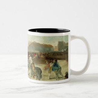 Tasse 2 Couleurs Francisco Jose de Goya   une corrida de village