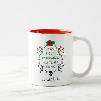 Tasse 2 Couleurs Frida Kahlo | Árbol De La Esperanza