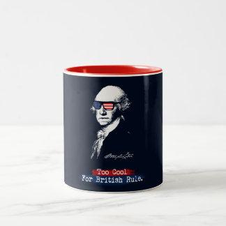 Tasse 2 Couleurs George Washington. Trop cool pour la règle