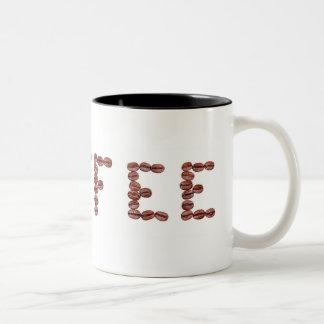 Tasse 2 Couleurs Grains de café