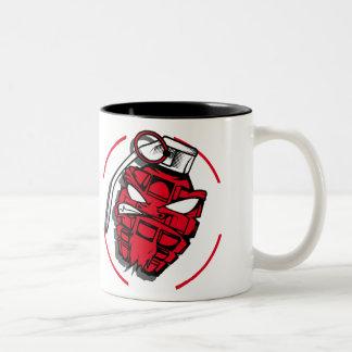 Tasse 2 Couleurs Grenade red