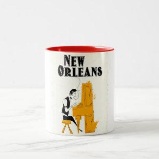 Tasse 2 Couleurs Honky Tonk de la Nouvelle-Orléans