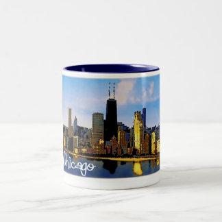 Tasse 2 Couleurs Horizon de Chicago