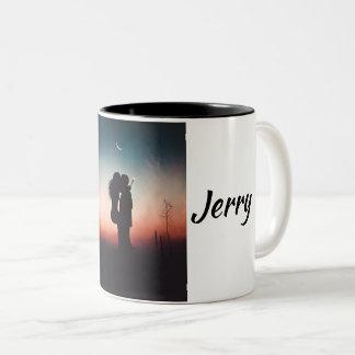 Tasse 2 Couleurs Jerry et Jane