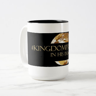 Tasse 2 Couleurs #KINGDOMPRENEUR- DANS SON noir du TM d'IMAGE