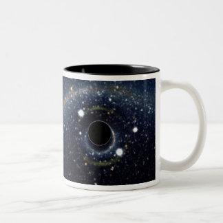 Tasse 2 Couleurs La NASA d'anneau d'Einstein de trou noir