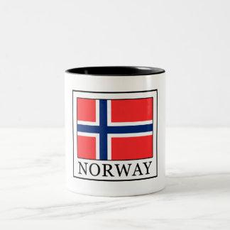 Tasse 2 Couleurs La Norvège