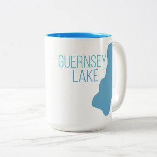 Tasse 2 Couleurs Lac guernsey, Delton, Michigan