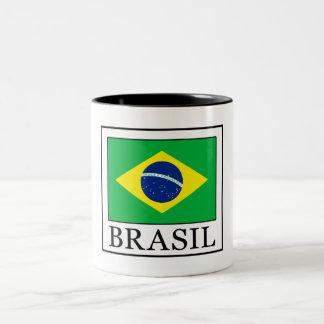 Tasse 2 Couleurs Le Brésil