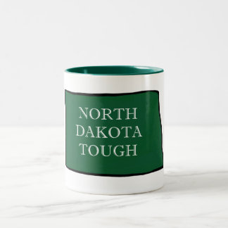 Tasse 2 Couleurs Le Dakota du Nord dur