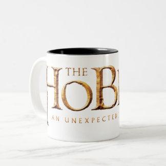 Tasse 2 Couleurs Le logo de Hobbit texturisé