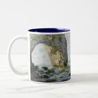 Tasse 2 Couleurs Le Manneporte par Claude Monet