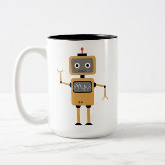 Tasse 2 Couleurs Le robot boude