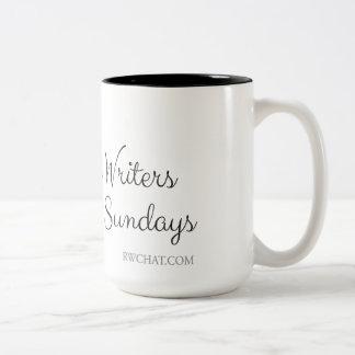 Tasse 2 Couleurs les #RWChatters le font le dimanche
