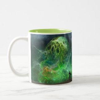 Tasse 2 Couleurs L'horreur cosmique indescriptible de Lovecraftian