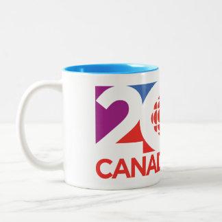 Tasse 2 Couleurs Logo 2017 de CBC/Radio-Canada