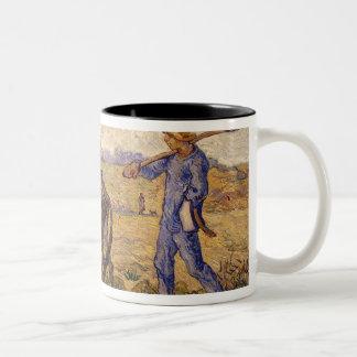 Tasse 2 Couleurs Matin de Vincent van Gogh |, sortant pour