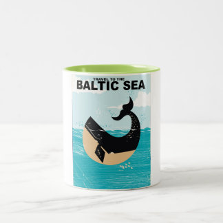 Tasse 2 Couleurs Mer baltique