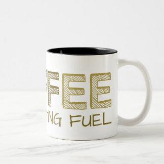 Tasse 2 Couleurs Moderne frais drôle simple de carburant