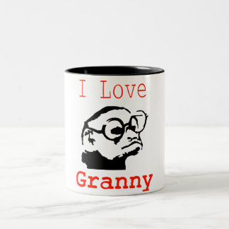 Tasse 2 Couleurs Monkey granny