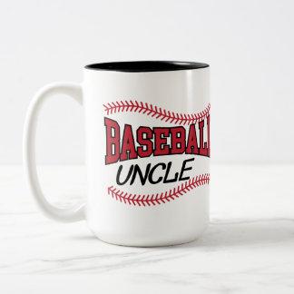 Tasse 2 Couleurs Oncle de base-ball