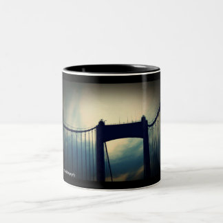 Tasse 2 Couleurs PA de Philadelphie de pont de Walt Whitman