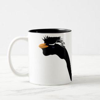 Tasse 2 Couleurs Pingouin dans le noir