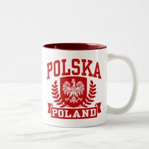 Tasse 2 Couleurs Polska Pologne