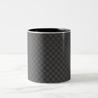 Tasse 2 Couleurs polymère Carbone-fibre-renforcé