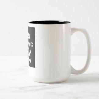 Tasse 2 Couleurs Porcs collectifs ! café