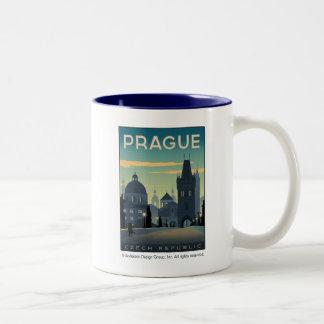 Tasse 2 Couleurs Prague, République Tchèque
