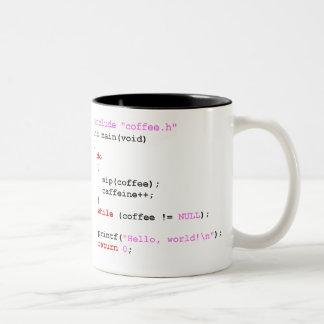 Tasse 2 Couleurs Programmation de Coffee.c