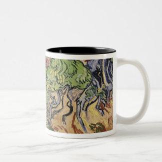 Tasse 2 Couleurs Racines d'arbre de Vincent van Gogh |, 1890