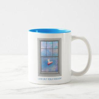 Tasse 2 Couleurs Regardez votre fenêtre