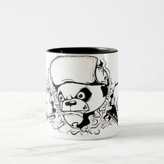Tasse 2 Couleurs rock'nroll panda