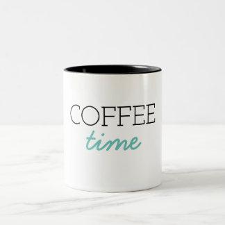 Tasse 2 Couleurs Temps de café