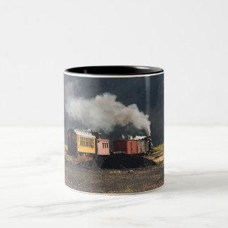 Tasse 2 Couleurs Train de vapeur