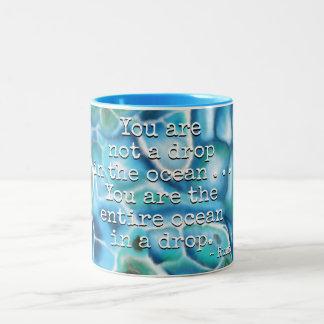 Tasse 2 Couleurs Vous êtes l'océan - Larimar