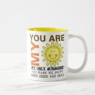 Tasse 2 Couleurs Vous êtes mon soleil