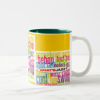 Tasse 2 Couleurs What's Jazz ?