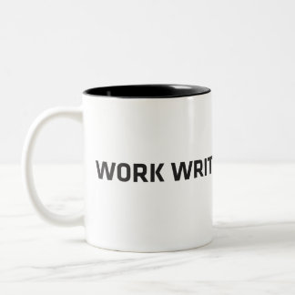 Tasse 2 Couleurs WorkWriteSubmitWait