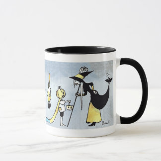 Tasse 2 de tasse du festin d'une sorcière