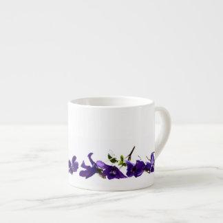 tasse à café Violettes