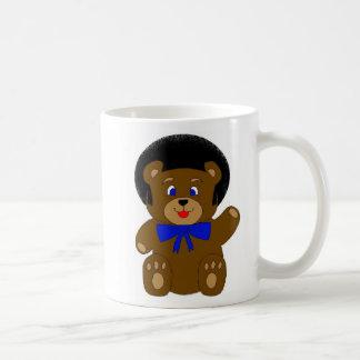 tasse Afro d'ours de nounours double